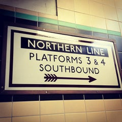 Photo taken at East Finchley London Underground Station by Karl W. on 6/16/2012