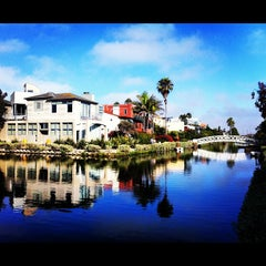 Photo taken at Venice Canals by Ron L. on 7/15/2012