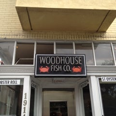 Photo taken at Woodhouse Fish Co. by Jen L. on 2/19/2012