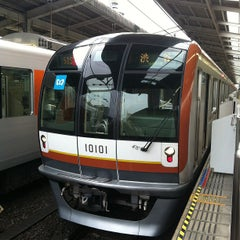 Photo taken at 和光市駅 (Wakōshi Sta.) (TJ11/Y01/F01) by つ on 6/2/2012