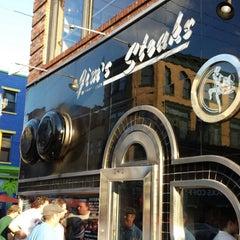 Photo taken at Jim's Steaks by David B. on 7/6/2013