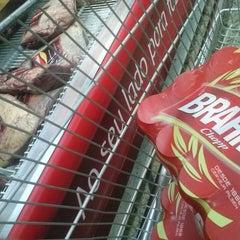 Photo taken at Multimarket Praia da Ribeira by Raphael D. on 6/16/2014