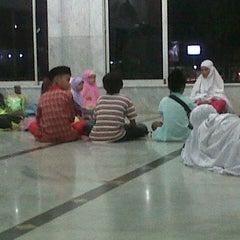 Photo taken at Masjid Agung Darul Falah by Geubrina R. on 1/17/2013