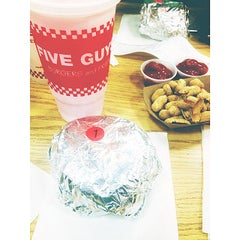 Photo taken at Five Guys by Micah S. on 9/27/2014