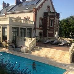 Photo taken at La Villa Eugène by Ayana B. on 7/22/2013