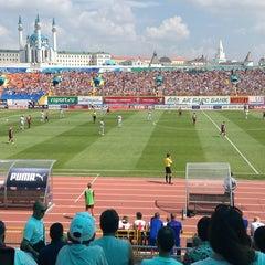 Photo taken at Центральный Стадион / Central Stadium by Ketty R. on 8/4/2013