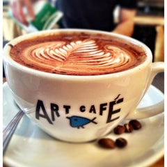 Photo taken at Art Cafe of Nyack by Art Cafe of Nyack on 7/5/2013