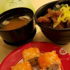 Photo taken at Sakae Sushi by Carrie L. on 7/22/2015