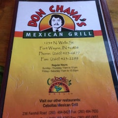 Photo taken at Don Chava's Mexican Grill by David W. on 8/25/2014