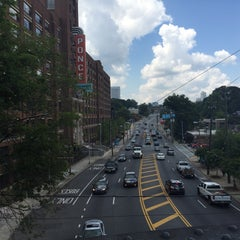 Photo taken at Atlanta BeltLine Corridor over Ponce de Leon by Lairalaine W. on 8/27/2015
