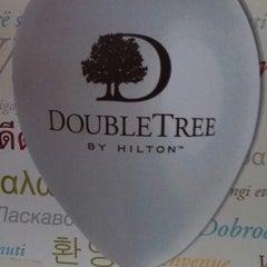 Photo taken at DoubleTree by Hilton Hotel Fayetteville by Lauren B. on 7/6/2013