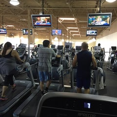 Photo taken at 24 Hour Fitness by Thirdy T. on 7/1/2015