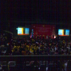 Photo taken at Britama Arena by yuliana m. on 2/7/2015