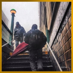 Photo taken at MTA Subway - 86th St (B/C) by Kerry C. on 2/16/2014