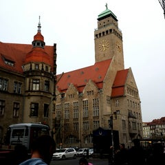 Photo taken at Rathaus Berlin-Neukölln by Alexander S. on 11/1/2013