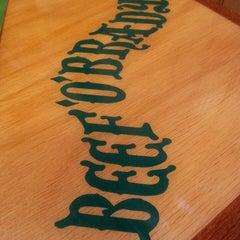 Photo taken at Beef 'O' Brady's by Megan V. on 3/17/2014