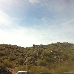 Photo taken at Mormon Trailhead by Matthew C. on 10/6/2012
