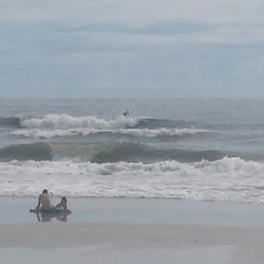 Photo taken at Jax Beach At South 15th Ave by Celeste K. on 8/4/2014
