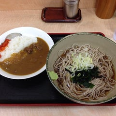 Photo taken at 箱根そば 新百合ヶ丘店 by eh50012kintarou on 11/3/2014