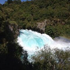 Photo taken at Huka Falls by MauOscar on 12/14/2012