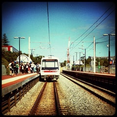 Photo taken at City West Train Station by Josh E. on 12/7/2012