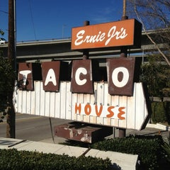 Photo taken at Ernie Jr's Taco House by Andre C. on 2/1/2013