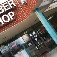 Photo taken at Village Barbershop by Willie B. on 3/16/2013