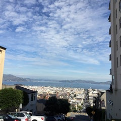 Photo taken at Fillmore Stairs by Wyatt G. on 3/14/2015