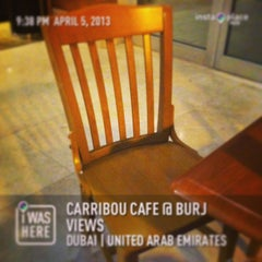 Photo taken at Carrıbou Cafe @ Burj Vıews by Genesis M. on 4/5/2013