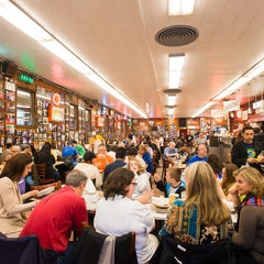 Photo taken at Katz's Delicatessen by Compass on 7/23/2013