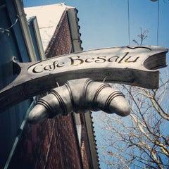 Photo taken at Cafe Besalu by Jim S. on 2/10/2013