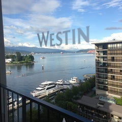 Photo taken at The Westin Bayshore, Vancouver by J.S. M. on 6/26/2013