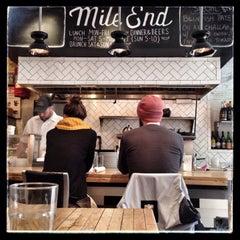 Photo taken at Mile End Delicatessen by fsvarc on 10/20/2014