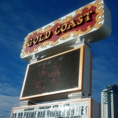 Photo taken at Gold Coast Hotel & Casino by Lindsey K. on 1/25/2013