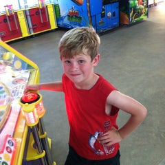 Photo taken at Carolina Beach Arcade by Sarah D. on 7/18/2013