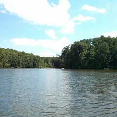 Photo taken at Lake Johnson by David on 7/6/2013