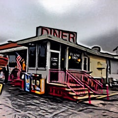 Photo taken at Broadway Diner by Rich H. on 2/9/2013