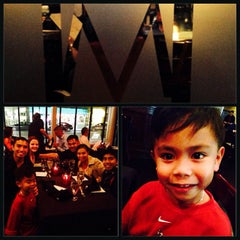 Photo taken at MetroPrime Steakhouse by Benjie L. on 10/19/2013