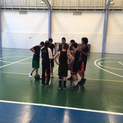 Photo taken at Deportivo Joaquín Capilla by Lulu R. on 7/5/2015