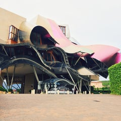 Photo taken at Hotel Marqués de Riscal by LukaSH on 5/1/2015