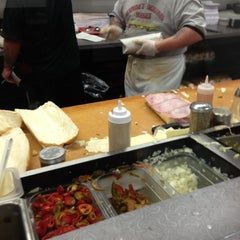 Photo taken at Laspada's Original Hoagies by Mike F. on 11/17/2012