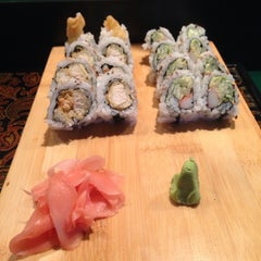 Photo taken at Ocean Blue Sushi by Brittany S. on 11/26/2013