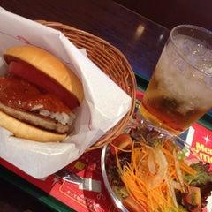 Photo taken at モスバーガー ベイサイド門司店 by Yako on 12/10/2014