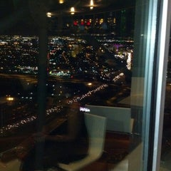 Photo taken at Five Sixty by Wolfgang Puck by Pamela K. on 10/19/2012