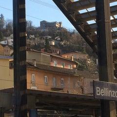 Photo taken at Bellinzona FFS by Oleksandr C. on 2/1/2015