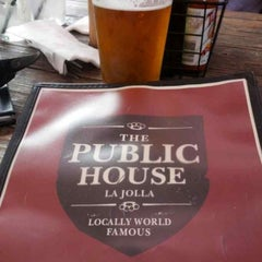 Photo taken at Public House La Jolla by Vince on 6/11/2013