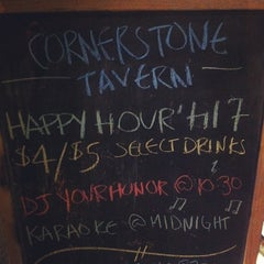 Photo taken at Cornerstone Tavern by DJ Your Honor on 7/6/2013