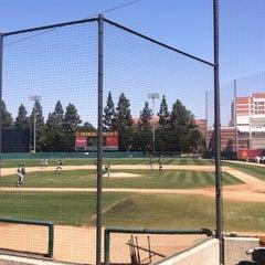 Photo taken at Dedeaux Field by AJ O. on 4/19/2015