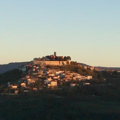Photo taken at Motovun - Montona by iymnsh on 10/23/2012