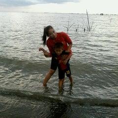 Photo taken at Pantai tanjung kait by Macht C. on 12/8/2013